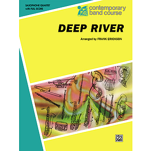 Deep River Saxophone Quartets (With Full Score)