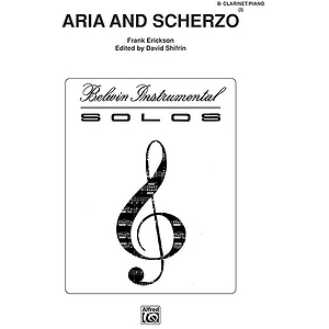 Aria And Scherzo B-Flat Clarinet Solos (With Piano Accompaniment)