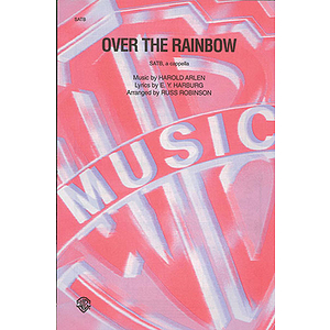 Over The Rainbow  Satb (A Capella)