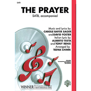 The Prayer From Quest For Camelot Satb Arr Chinn