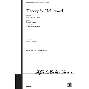 Hooray For Hollywood Satb Arr Schram