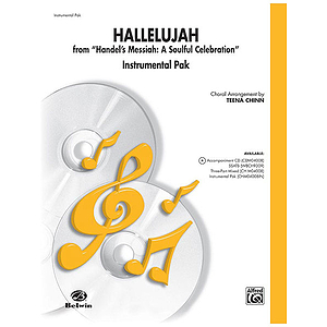Hallelujah From Soulful Celebration Instrumental Pak Arr Teena Chinn Contains: Trumpets 1 & 2 Tenor Sax Trombone.
