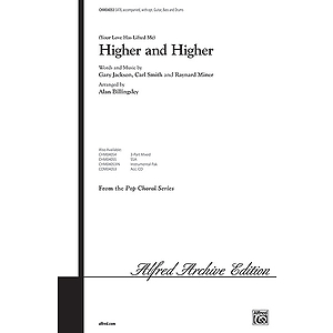 Higher And Higher Satb Arr. Billingsley