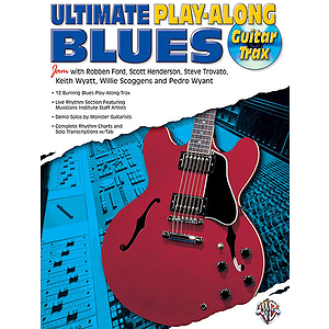 Ultimate Blues Play-Along Guitar Trax CD Included
