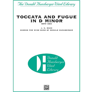 Toccata & Fugue In D Minor Bwv 565