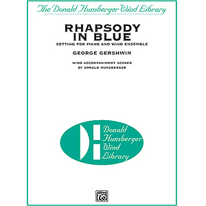 Rhapsody In Blue  Conductor's Score