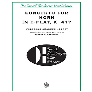 Concerto For Horn In E-Flat