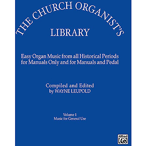 Church Organist's Library Volume One