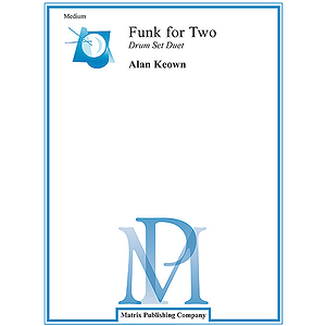 Funk For Two Drum Set Duet