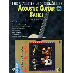 Acoustic Guitar Basics Megapak Ultimate Beginner Series (DVD)