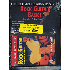 Rock Guitar Megapack Ultimate Beginner Series (DVD)
