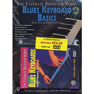 Blues Keyboard Megapack Ultimate Beginner Series (DVD)