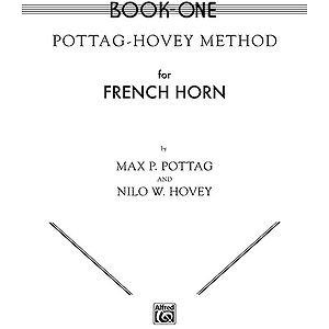 Pottag-Hovey Method For French Horn Book I