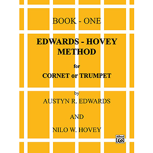 Edwards-Hovey Method For Cornet Or Trumpet Book I