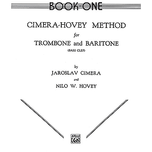 Cimera  Hovey Method For Trombone And Baritone Book I