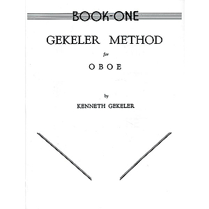 Gekeler Mothod For Oboe Book I