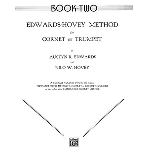 Edwards-Hovey Method For Cornet Or Trumpet Book II