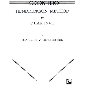 Hendrickson Method For Clarinet Book II