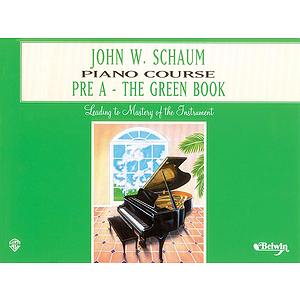 Piano Course Pre-A The Green Book (Revised)