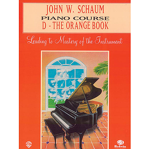 Piano Course D The Orange Book (Revised)