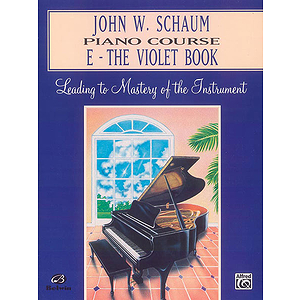 Piano Course E The Violet Book (Revised)