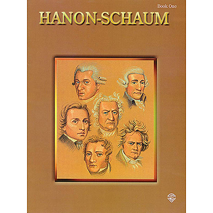 Hanon-Schaum Book 1 The Virtuoso Pianist Part 1