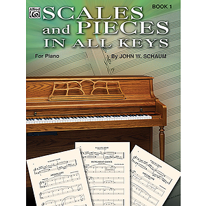Scales And Pieces In All Keys Book 1 For Piano