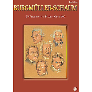 Burgmuller-Schaum Book One