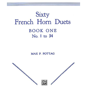 Sixty French Horn Duets Book One
