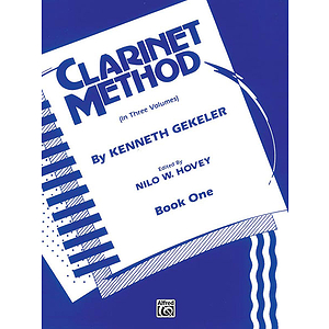 Belwin Clarinet Method Book 1