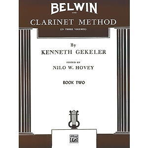 Belwin Clarinet Method Book 2