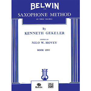 Belwin Saxophone Method Book I