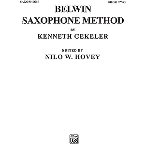 Belwin Saxophone Method Book II