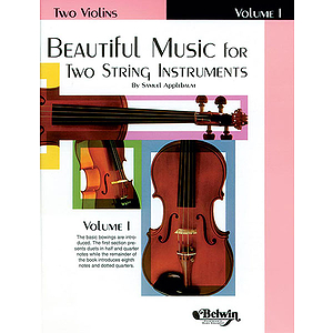 Beautiful Music For Two String Instruments Book I Violins