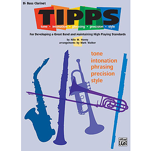 Tipps B-Flat Bass Clarinet