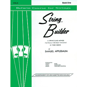 Belwin String Builder Book I Violin