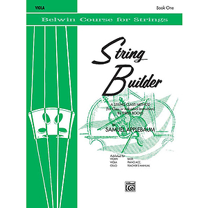 Belwin String Builder Book Book I Viola