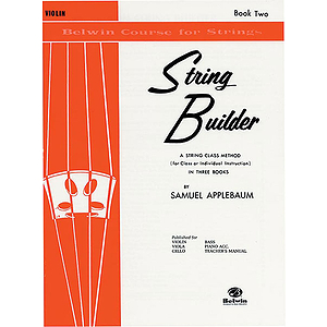 Belwin String Builder Book II Violin