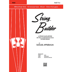 Belwin String Builder Book II Cello