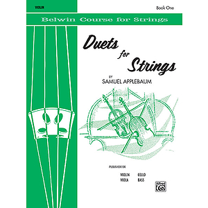 Duets For Strings Book I Violin