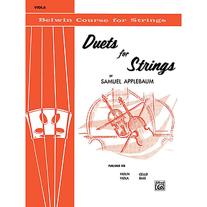 Duets For Strings Book I Viola