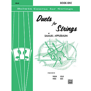Duets For Strings Book I Cello
