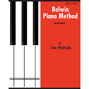 Belwin Piano Method Book 1