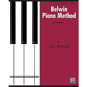 Belwin Piano Method Book 3