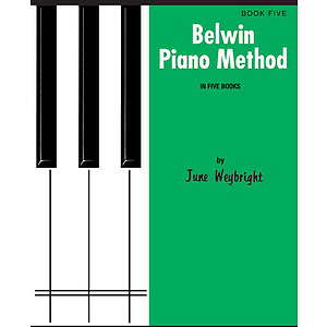 Belwin Piano Method  Book 5