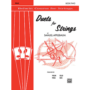 Duets For Strings Book II Cello