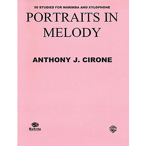 Portriats In Melody 50 Studies For Marimba And Xylophone
