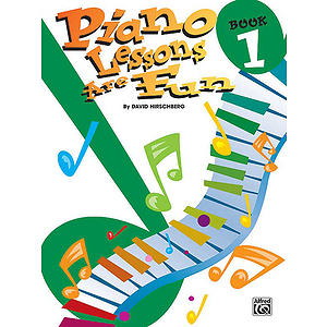 Piano Lessons Are Fun Book 1