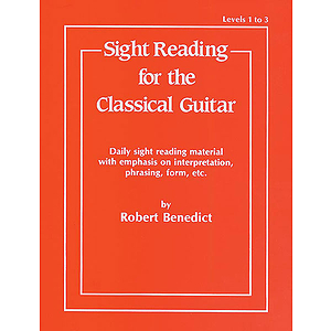 Sight Reading For The Classical Guitar Level 1 To 3