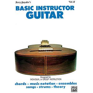Basic Instructor Guitar Volume II Student Edition